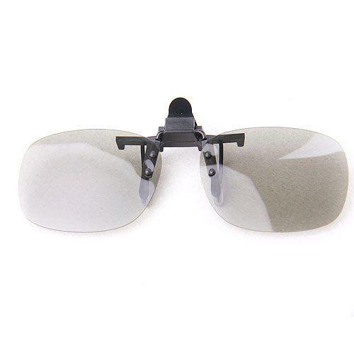 2 Pairs VIZIO 3D TV Clip On Passive Type Circular Polarized 3D Glass Clip--2 Pairs for more details visit :http://tv.megaluxmart.com/