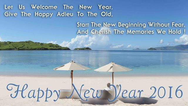 Happy New Year 2016: New Year Wishes 2016