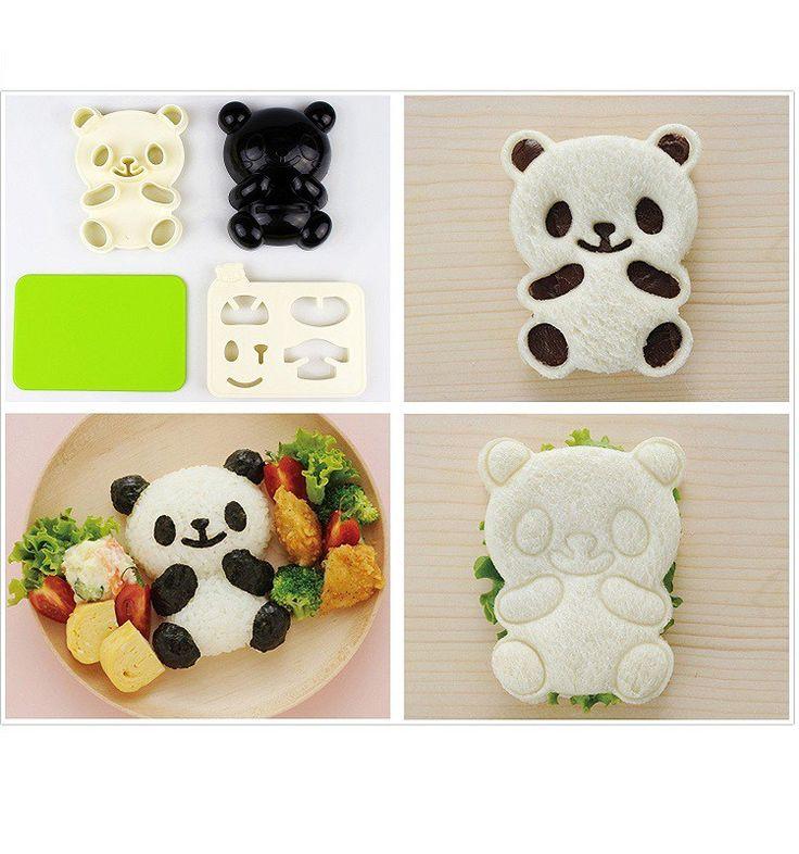 Panda Toast Mold – Novelty Gift Ideas