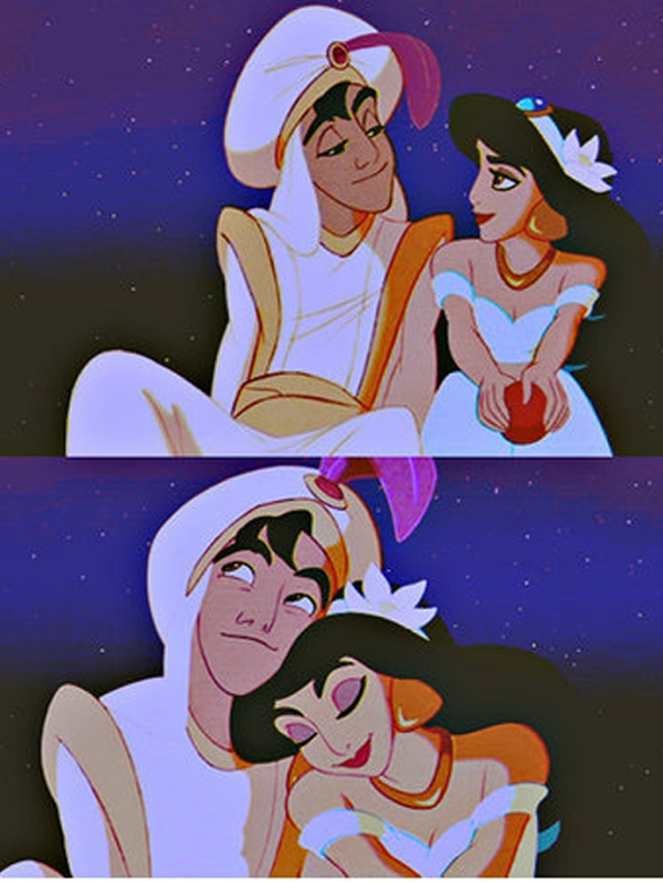 Dreaming of a whole new world... Just like these two someday  prince charming coming  soon