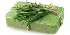 Rosemary-Mint Melt and Pour Soap Bar (rosemary green soap bar)