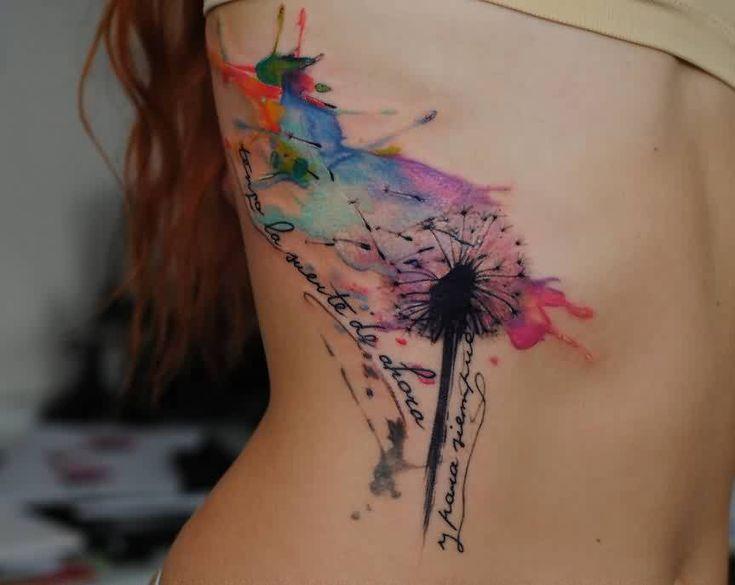 watercolor libelle tattoo - Google zoeken