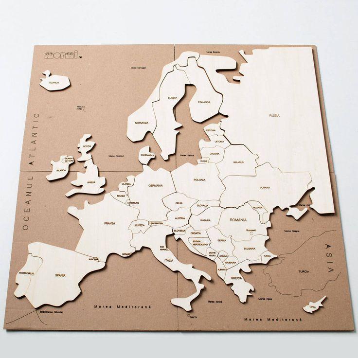 Puzzle hartă - Europa