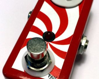 Saturnworks Peppermint Clean Boost Booster Guitar Pedal