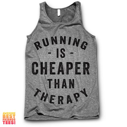 Running Is Cheaper Than Therapy #runningclothes