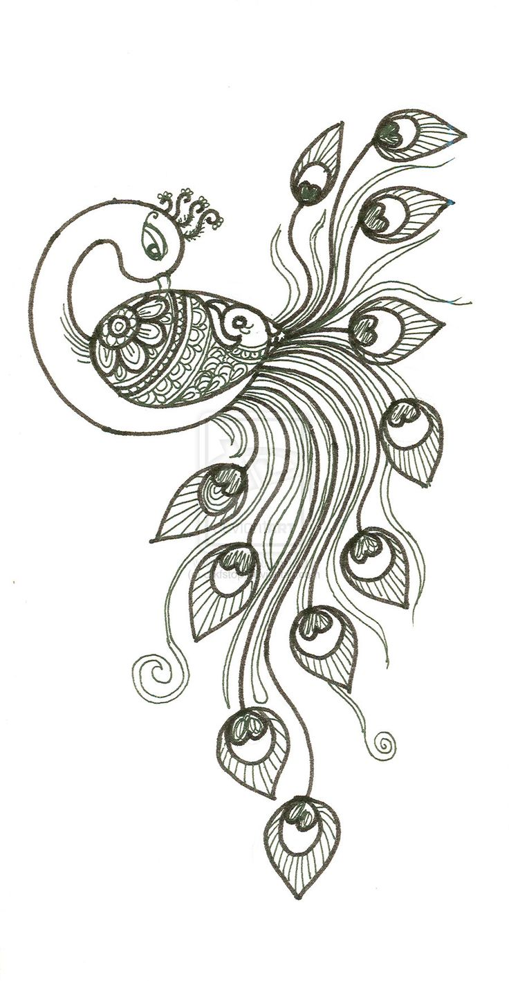 free adult coloring pages peacock Google Search