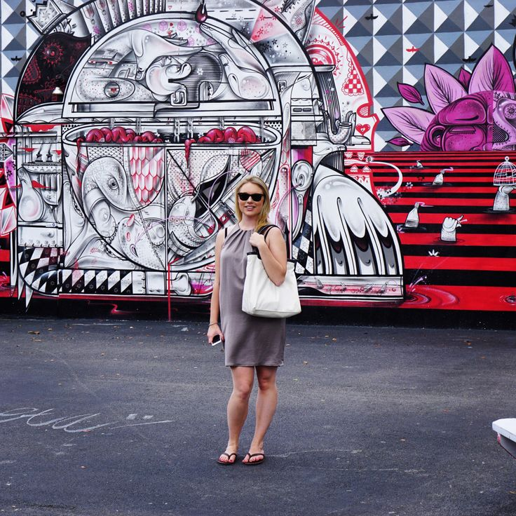At the Wynwood Walls in Miami