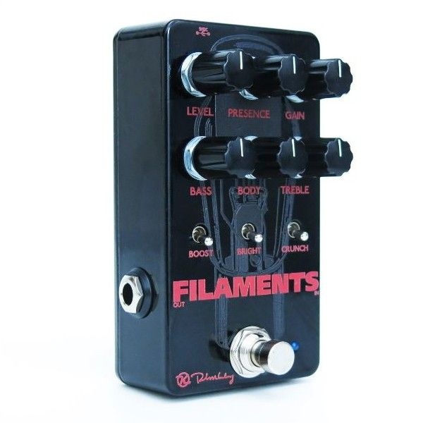 "Keeley Electronics Filaments Hi Gain Distortion | There is no genre out there with as many subgenres as metal and if you've looked for a distortion pedal that plays ""your kind"" of metal ie, that covered all the bases, the Filaments has your back! Sludge, doom, stoner, power, Swedish death, black, and just regular ""heavy"" tones are all there, with everything in between: metalcore, grindcore, or just plain ol' hardcore. RRP US$190 – 1 of 2"