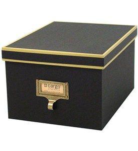 Cargo Atheneum DVD Storage Box - Black Image