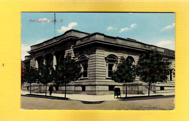 """This is a 5 1/2"""" by 3 1/2"""" (standard size) color printed postcard, not used, circa 1910. The colored border is a cardboard panel so that all edges of the postcard are visible."""