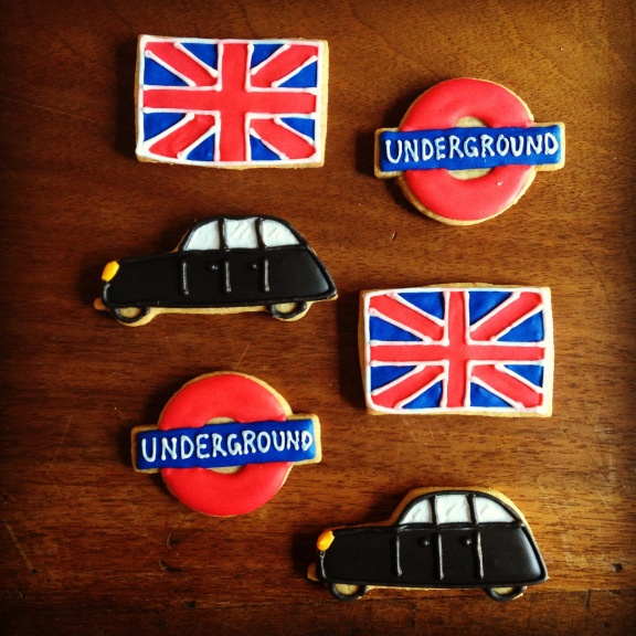London sugar cookies
