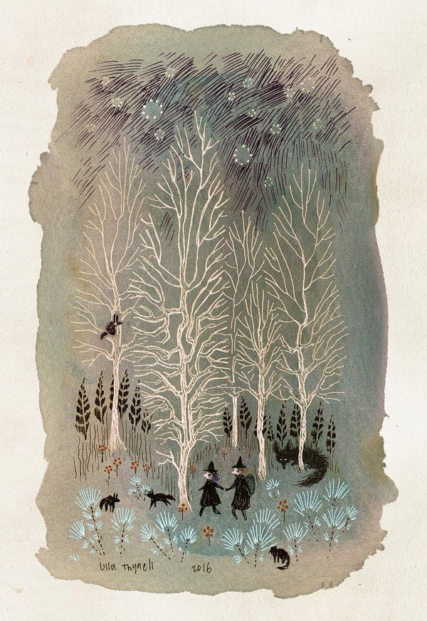 White Woods by ullakko on DeviantArt