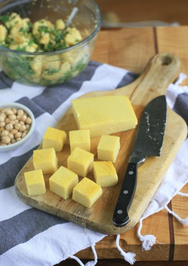 Pinner said: Soy-free tofu? Believe it! This Burmese Chickpea Tofu is a whole new world.