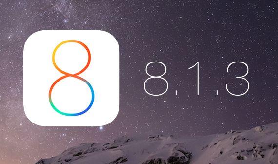 Apple, iOS için 8.1.3 güncellemesini haftaya çıkarıyor | Webledik