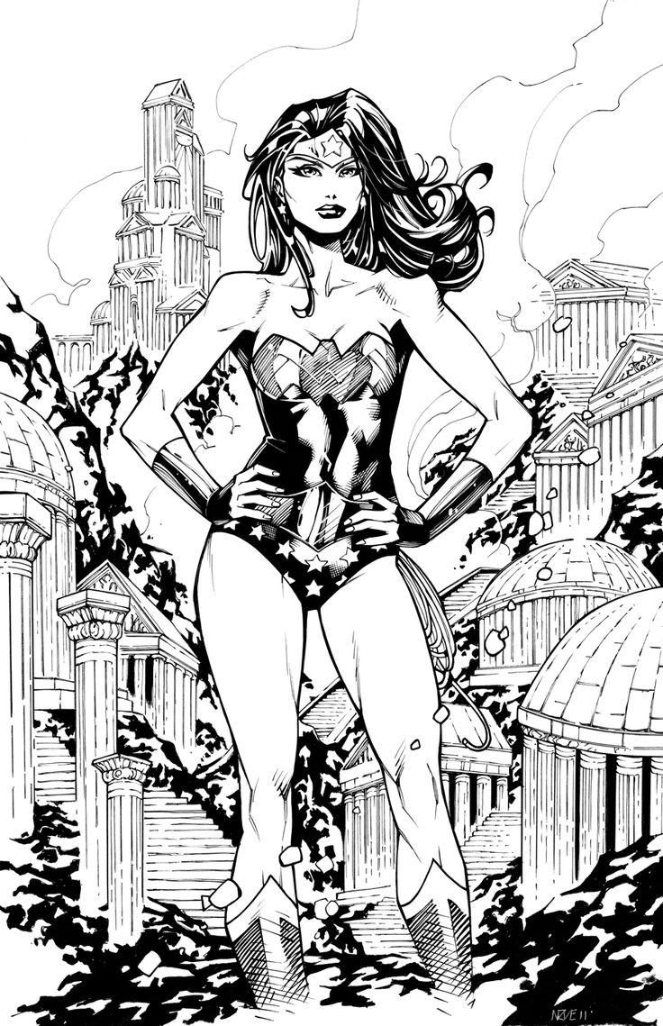 Wonder Woman on Amazon Island by ~olivernome on deviantART