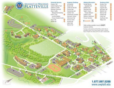 Sonoma State University Map uw platteville campus map campus life ...