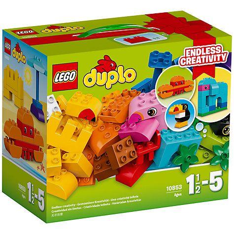 Buy LEGO DUPLO 10853 Tropical Theme Creative Builder Box Online at johnlewis.com