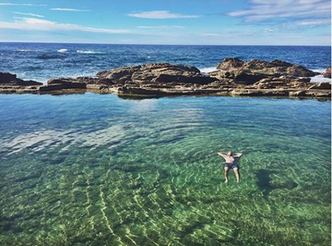 Just another stunning shot of the Bermagui Blue Pool.