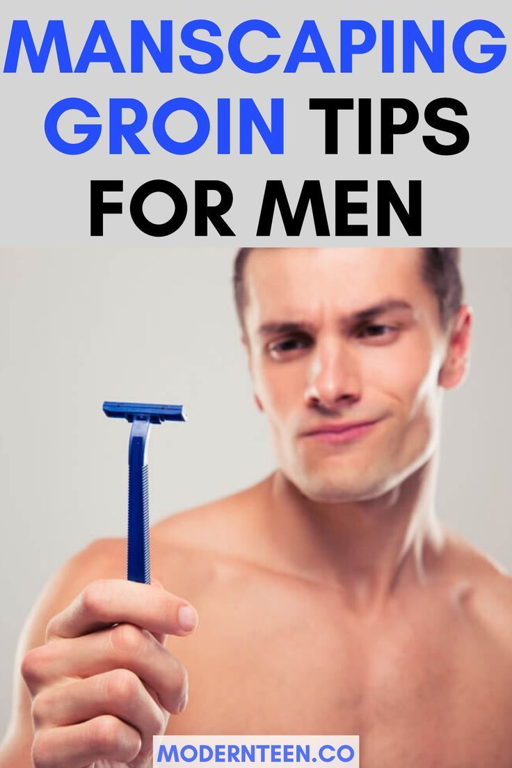 How to Groom Down There - Manscaping Tips to Trim Pubes