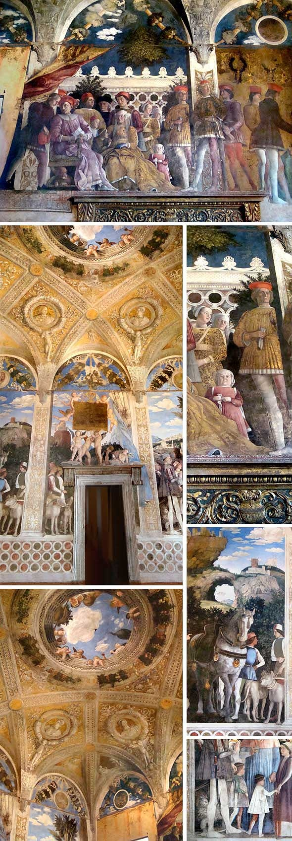 Andrea Mantegna: Camera Picta inside the Palazzo Ducale