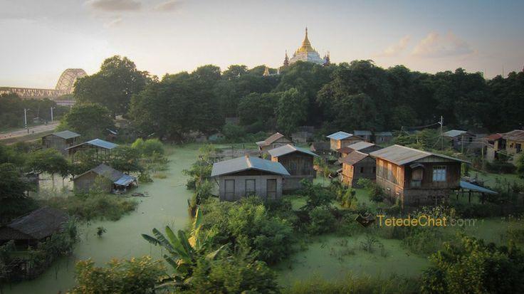Myitkyina en train - Myanmar, voyage - TetedeChat.com