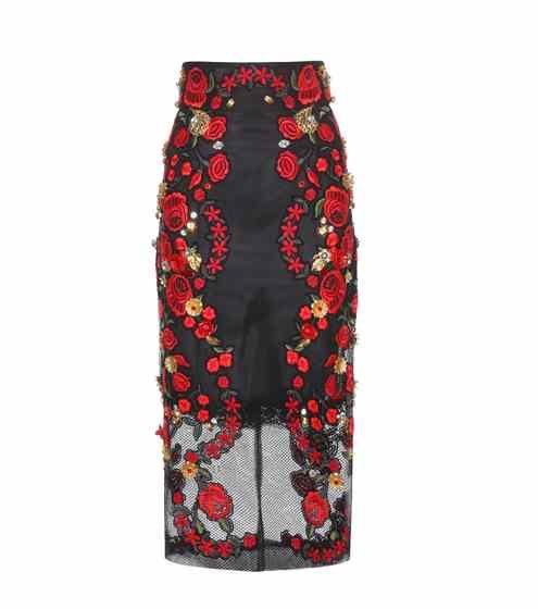 Embellished pencil skirt | Dolce & Gabbana
