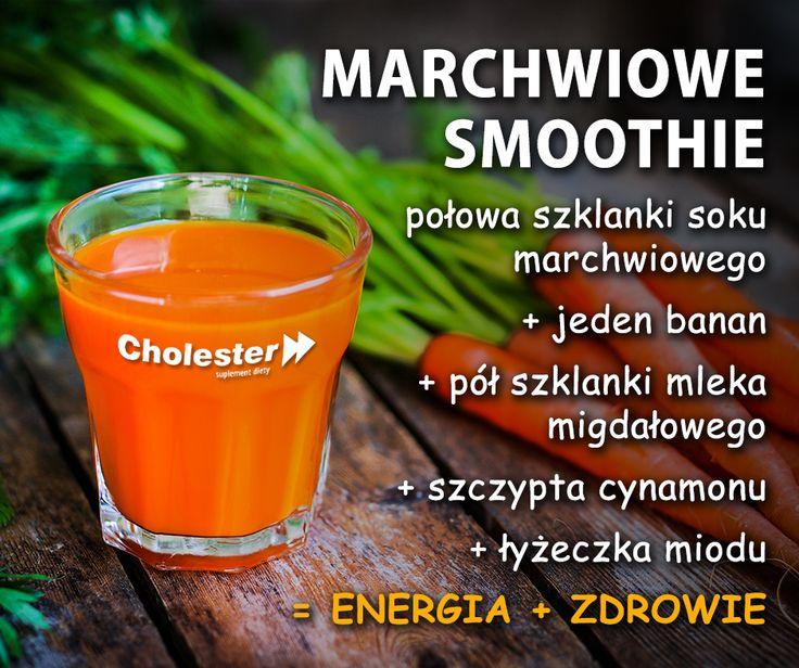 Na poniedziałek polecamy marchwiowe smoothie! Pycha :)  #smoothie #marchew #zdrowie #napoje #witaminy