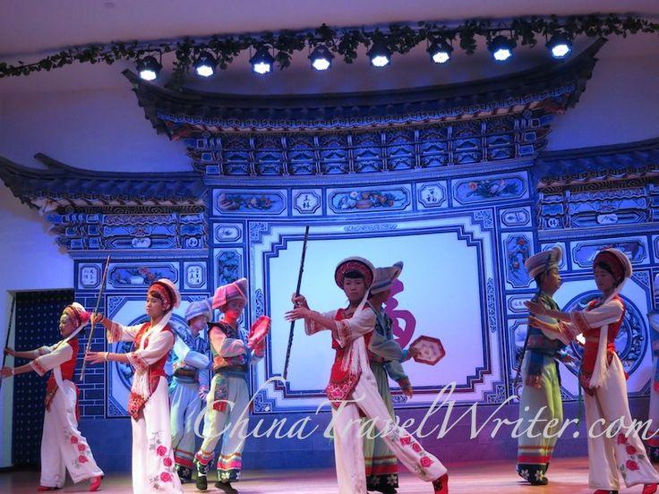 Dancing during the Dali Bai wedding ceremony.