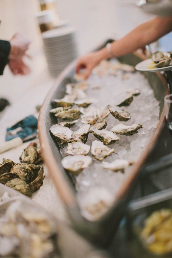Oyster bar! Photo by Henry + Mac