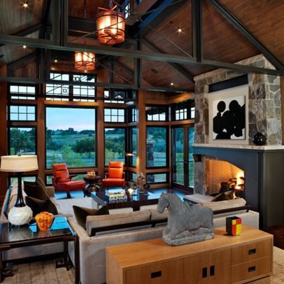 Steel Frame House Design Ideas, Pictures, Remodel, and Decor - page 21