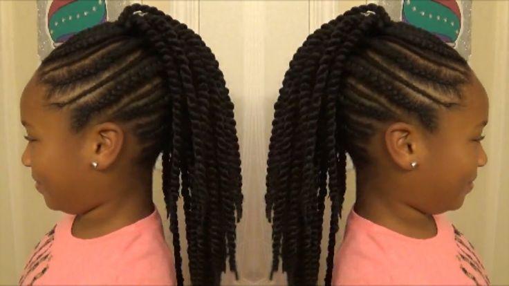 "Back to School 2016 ""Slim Thick"" Braid Senegalese Twist Mohawk for Littl..."
