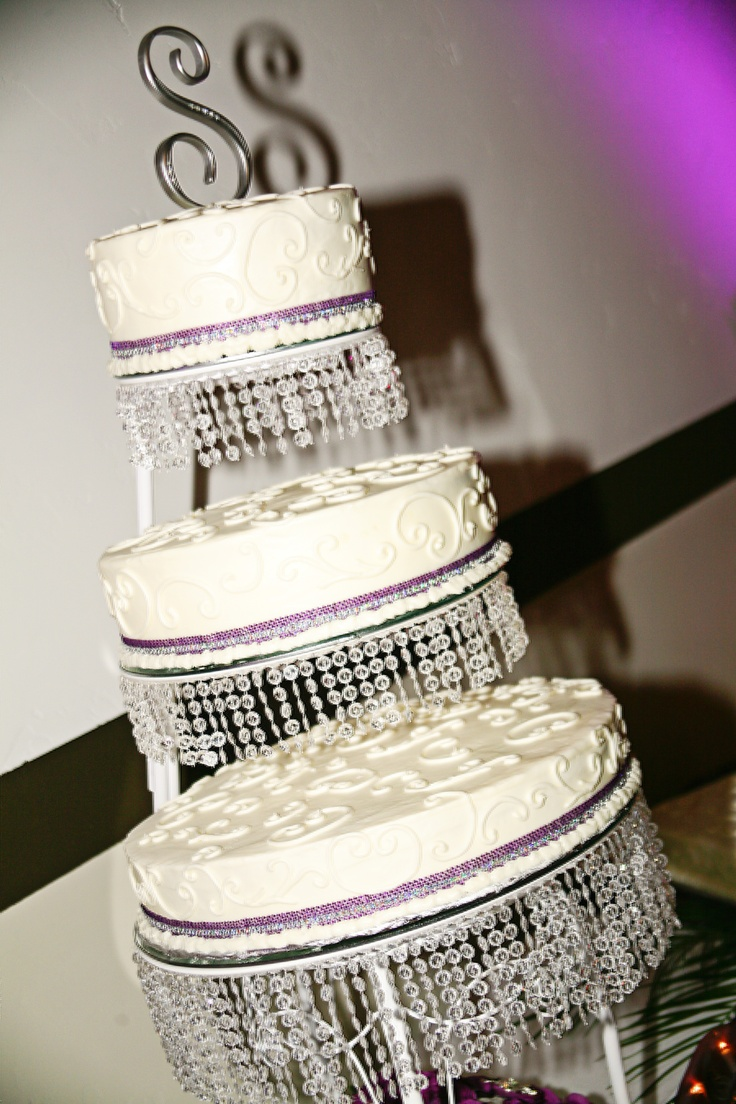 Crystal Cake Stand, Homemade