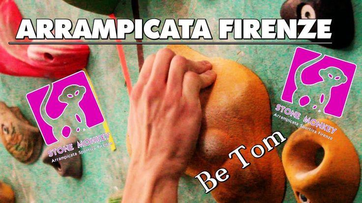 STONE MONKEY FIRENZE Arrampicata sportiva a Firenze_Be Tom climbing!
