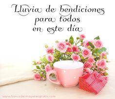 BANCO DE IMÁGENES: Mensajes de buenos días, feliz domingo y buenos deseos...