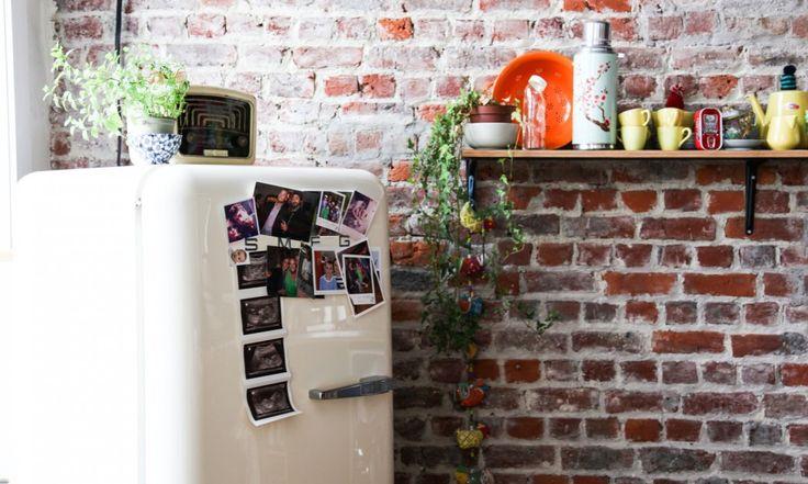 les 25 meilleures id es de la cat gorie frigo smeg sur pinterest frigo vintage smeg. Black Bedroom Furniture Sets. Home Design Ideas