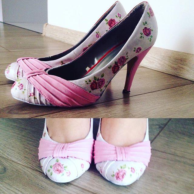 😎🌷#decoupage#rose#pink#new#flower#decoupageart #decoupageheels #decoupageshoes #decour #shoes #heels #szpilki#rozowe#instaart #handmade#rekodzielo#art