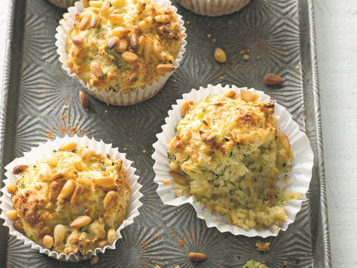These tasty zucchini, parmesan and basil muffins from Anneka Manning's book, BakeClass, are a great alternative to the sweet ones, especially when served as a snack or instead of bread alongside soup or salad.