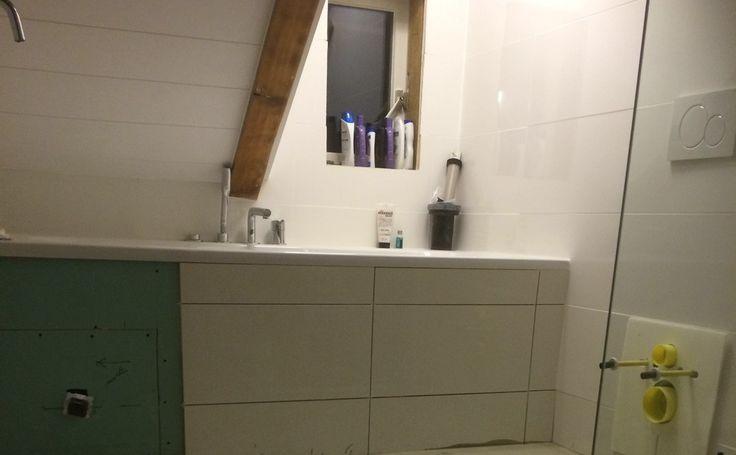 Zelf de badkamer verbouwen? JA! In deze 8 stappen ...