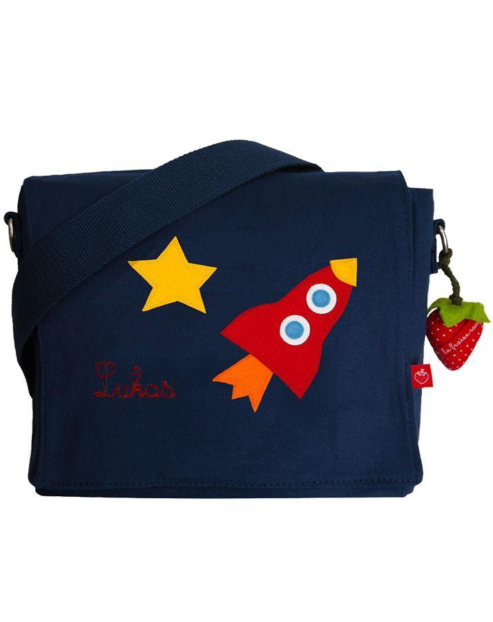 Kindergartentasche RAKETE in blau