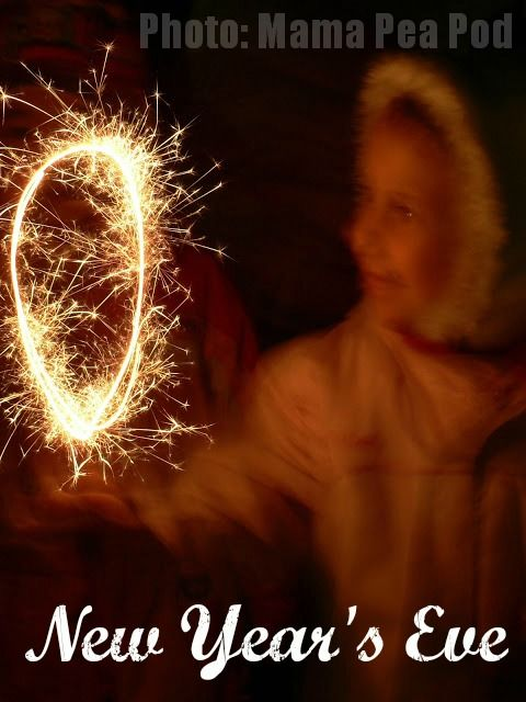 New Year's Eve Traditions from around the world Frankurters & Sparklers from Hungary. Read about a tradition a day... via http://www.redtedart.com/category/new-years-eve/