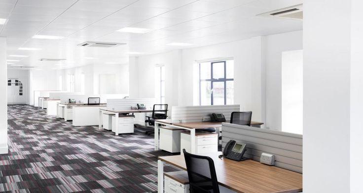 Open space dans les locaux de Stanley B&D à Inverness, Ecosse