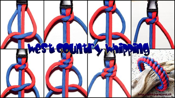 Armband West Country Whipping   Swiss Paracord