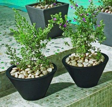 Josef Round Planter: Unique Josef Planters Are Suitable For Indoor Or  Outdoor Use. Josef