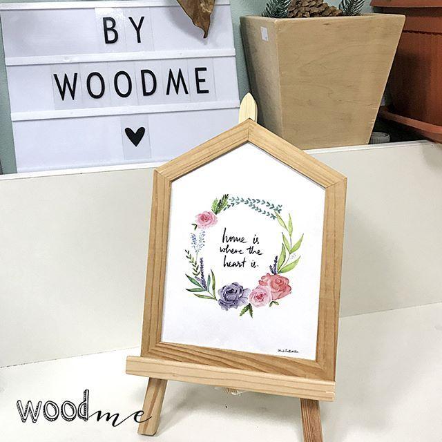 Дом там, где твое сердце❤  .  .  .  .  #woodme #деревянныйдекор #деревяннаярамка #рамкаиздерева #Деревянная_рамка_для_фото #рамка #frame #frames #заготовкаиздерева #мольберт #деревянный_мольберт