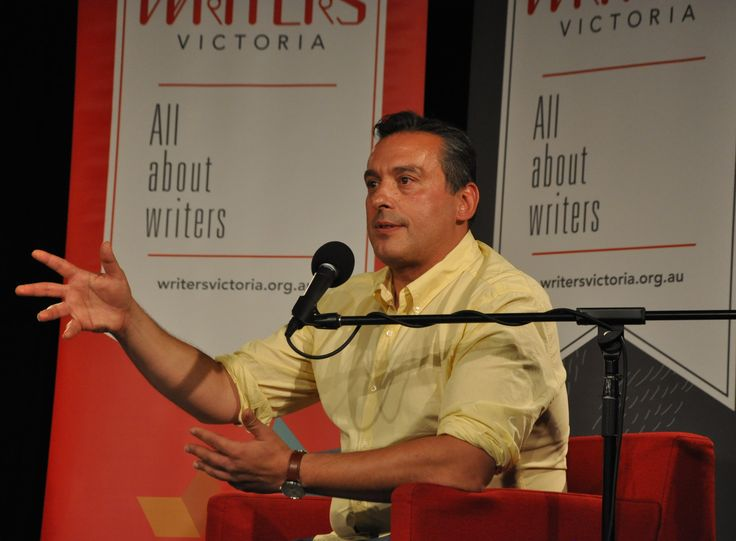 A Night with Christos Tsiolkas, Writers Victoria fundraiser (December 2016)