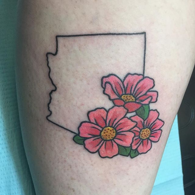 Pin for Later: 50 States of Tattoos: Ink Ideas From Every Corner of America Arizona