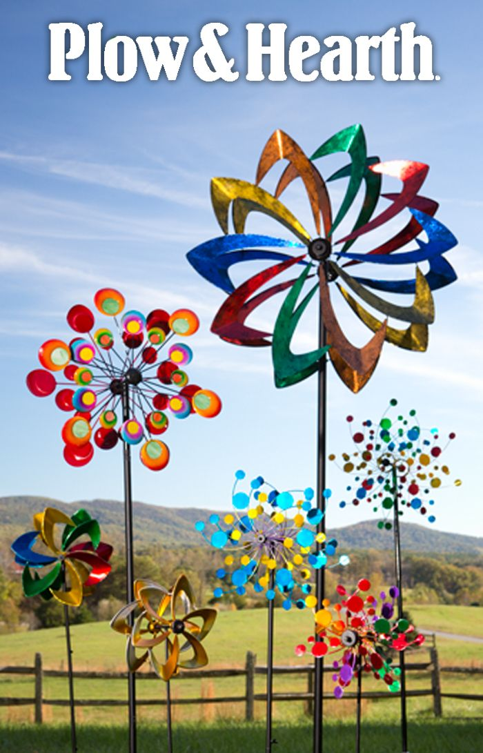 Spinning Twirling Whirling Mesmerizing Wind Spinners Wind Spinners Diy Garden Wind Spinners