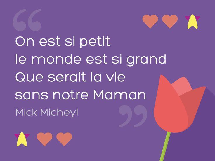 #Carte #Voeu #Fete des #Meres #Maman #Momsday #quote #citation #tendresse #douceur #love #Whataboon