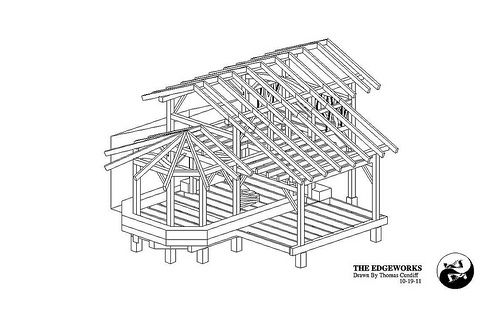 1000 ideas about timber frame houses on pinterest small for Timber frame straw bale house plans