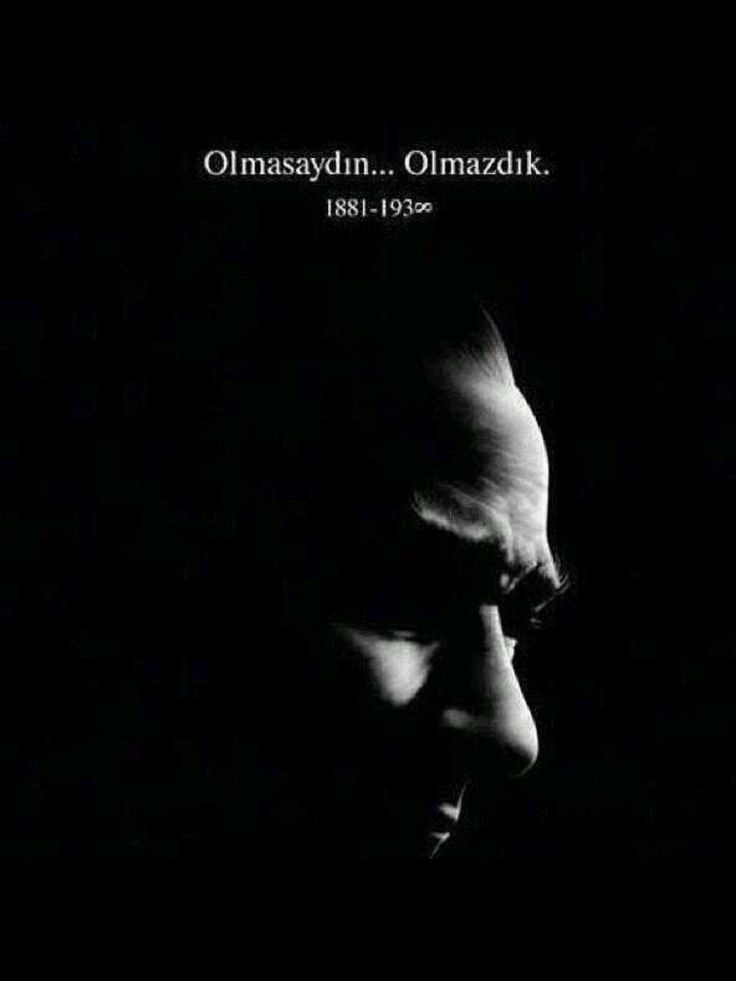 Seni, bize gönderen Allah'ımıza şükrediyoruz, canım ATAm.. We are endlessly thankful GOD sent you to us, dear Atatürk !